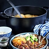 Beef Chili With Cornbread Dumplings