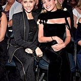 Pictured: Tish and Miley Cyrus