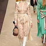 Bella Hadid Walking the Fendi Runway at Milan Fashion Week Autumn/Winter 2019/2020
