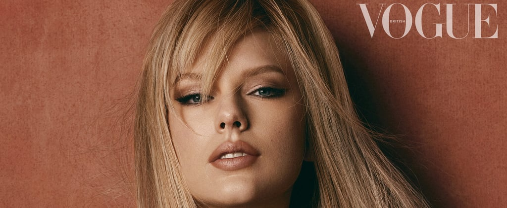 Taylor Swift's Side Bangs on British Vogue Cover January