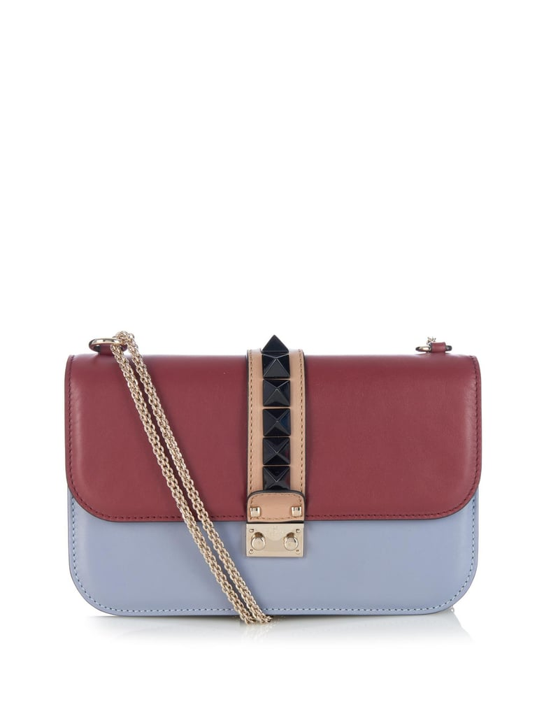 VIDA Statement Bag - Blue and red by VIDA