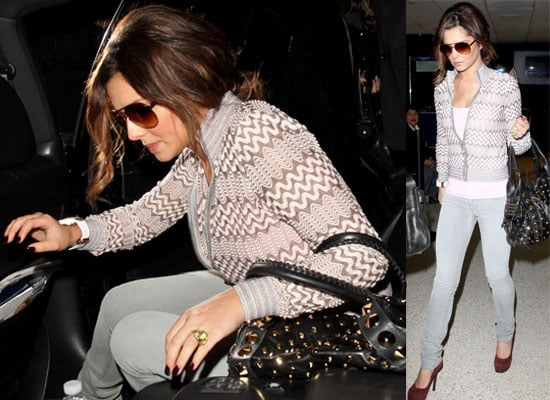 Photos of Cheryl Cole Arriving at LAX