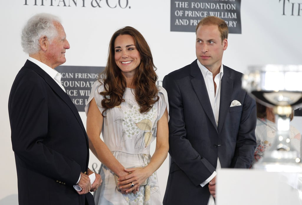 Prince William and Kate Middleton in Santa Barbara.