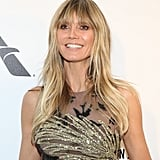 Heidi Klum at the 2019 Elton John AIDS Foundation Academy Oscars Party
