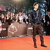 Timothée Chalamet at The King UK Premiere Pictures