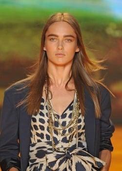 Makeup at DKNY Spring 2009 Fashion Week
