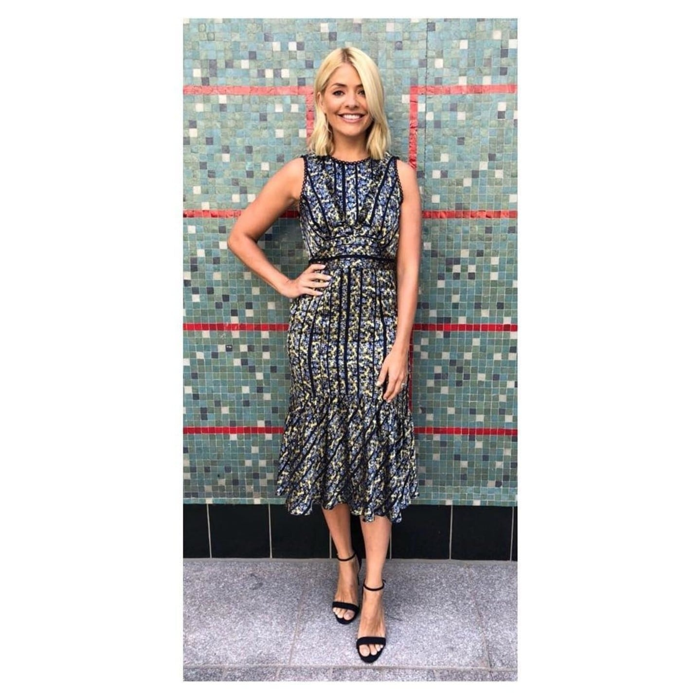 9f208f2505 Holly Willoughby s Whistles Dress