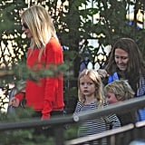 Gwyneth Paltrow Pictures at NYC Playground With Apple, Martin