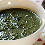 Flat-Belly Creamy Spinach Chard Soup