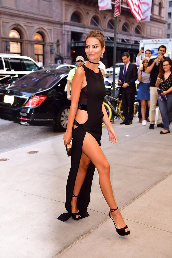 Emily Ratajkowski's Sexiest Dress of All Time Had Her Just Shy of Naked
