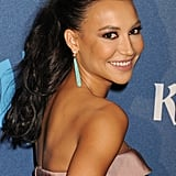 Even if you don't have full curls like Naya Rivera, you can get a similar effect by adding a clip-in piece for more volume.