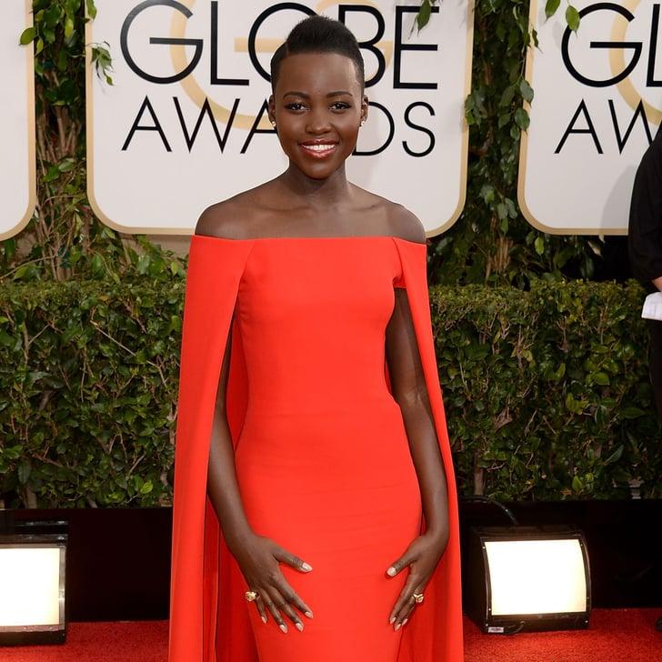 Red Dresses at Golden Globes 2014