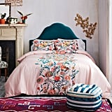 Placed Floral Duvet Cover and Pillow Sham Set