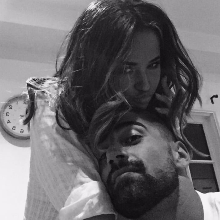 When Becky Dedicated #MCM to Sebastian | Becky G and Sebastian Lletget Pictures | POPSUGAR Latina Photo 1
