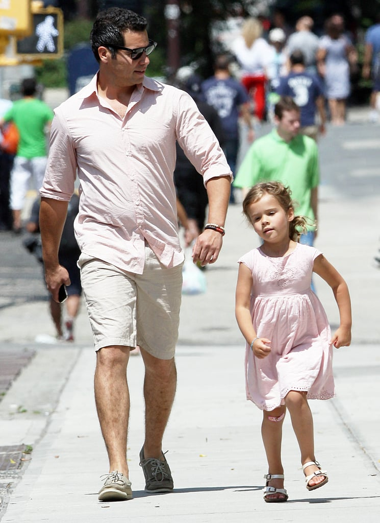 Cash Warren and Honor Warren took a stroll together in NYC.