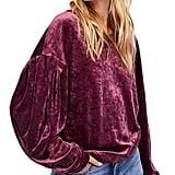 Arctic Cubic Velvet Sweatshirt