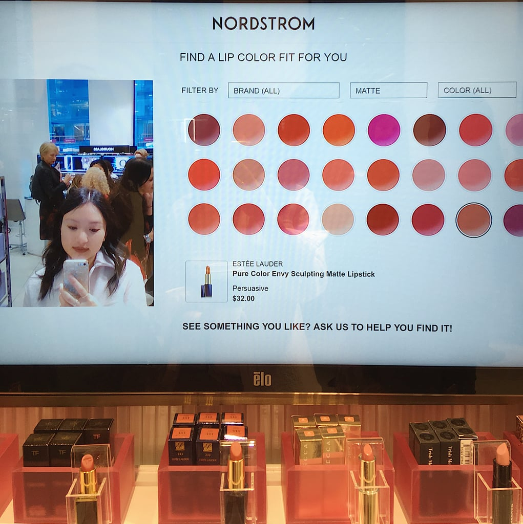 """You Can """"Try On"""" Beauty Products Using AR Stations"""