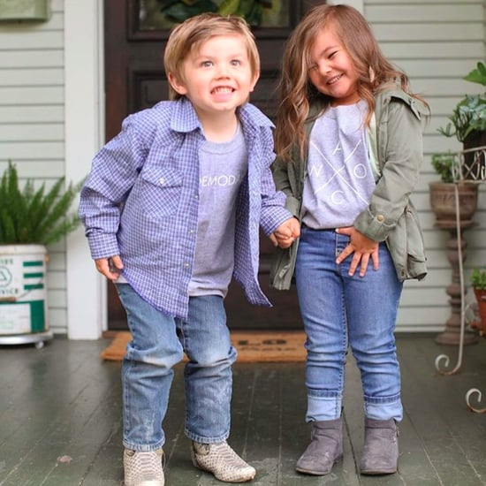 Video of Kids Acting Like Chip and Joanna Gaines