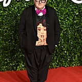 Alber Elbaz at the British Fashion Awards 2019