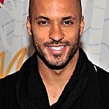 Actor Ricky Whittle showed off his pearly whites.