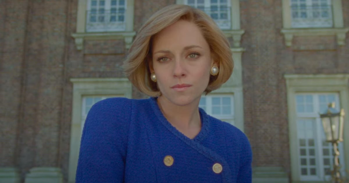 Get the Latest Glimpse of Kristen Stewart as Princess Diana in the Dramatic Spencer Trailer.jpg