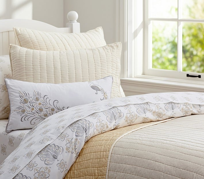 Silk Channel Quilted Bedding Kids Bedding For Fall