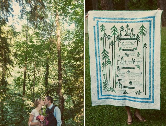 Woodsy Blanket