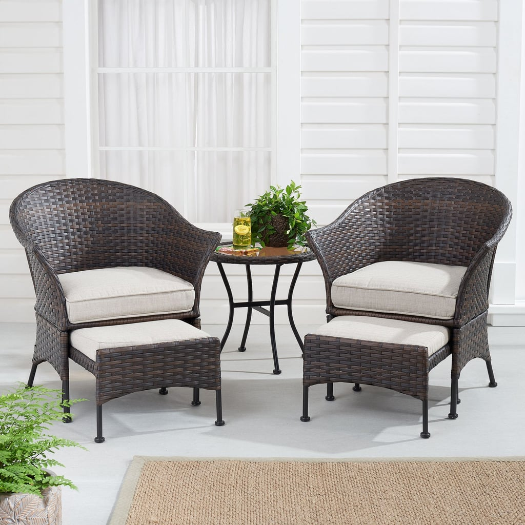 Mainstays Arlington Glen 5-Piece Outdoor Furniture Patio Leisure Set
