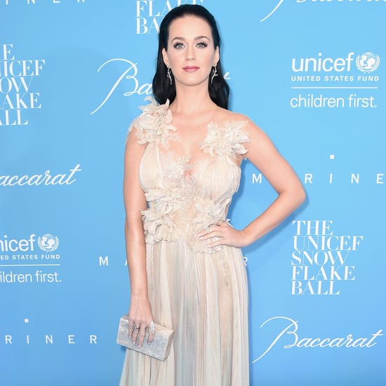 Katy Perry and Orlando Bloom at UNICEF Snowflake Ball 2016
