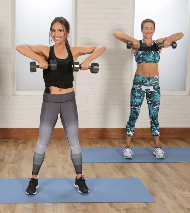 Dumbbell Workout Videos Popsugar Fitness