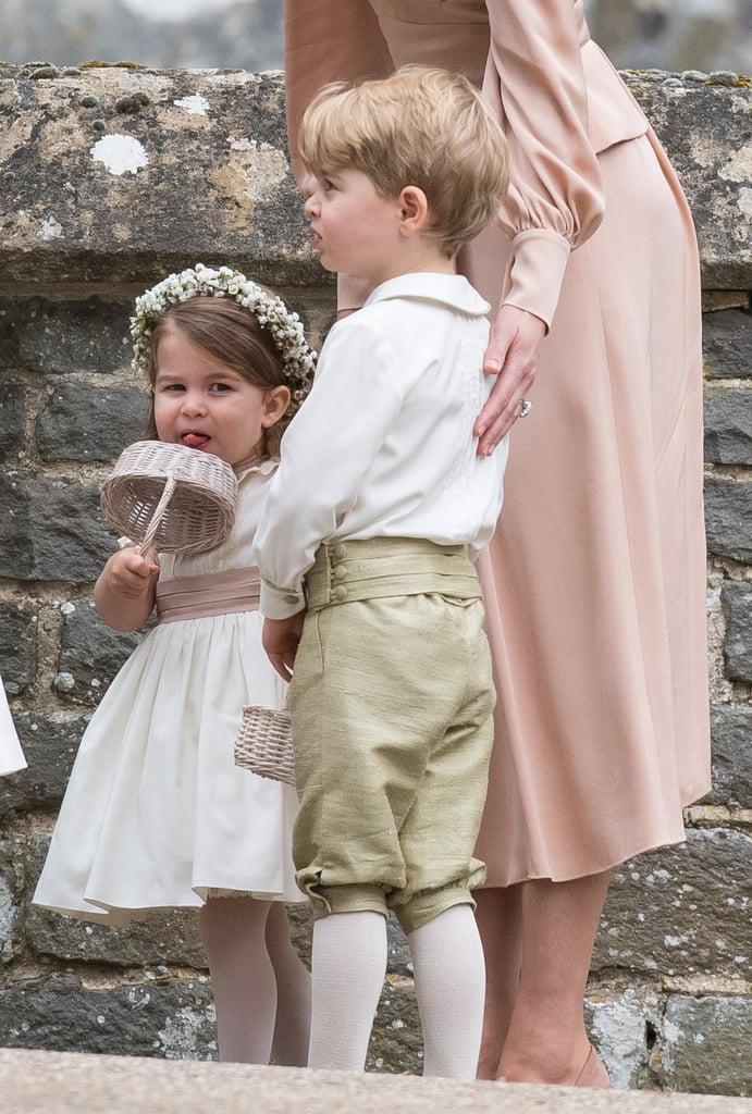 Princess Kate Dress Wedding 98 Popular George and Charlotte at