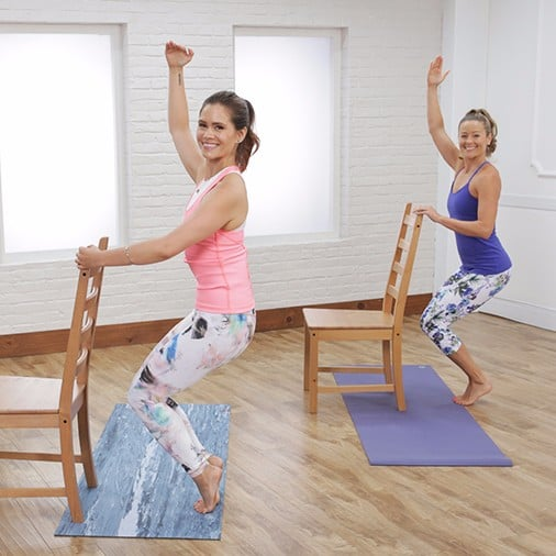 30-Minute Yoga-Barre Hybrid Workout