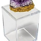 Acrylic Box With Amethyst
