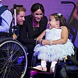 Prince Harry and Meghan Markle PDA at 2018 WellChild Awards
