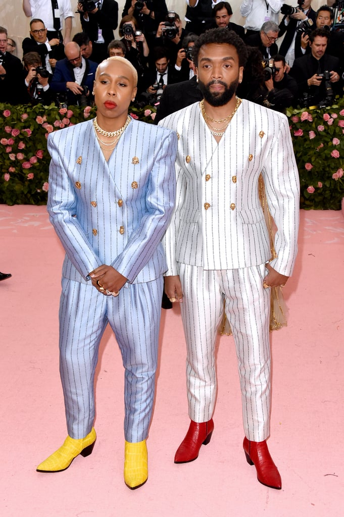 Lena Waithe's Statement Jacket Was the Reality Check the Met Gala Red Carpet Needed
