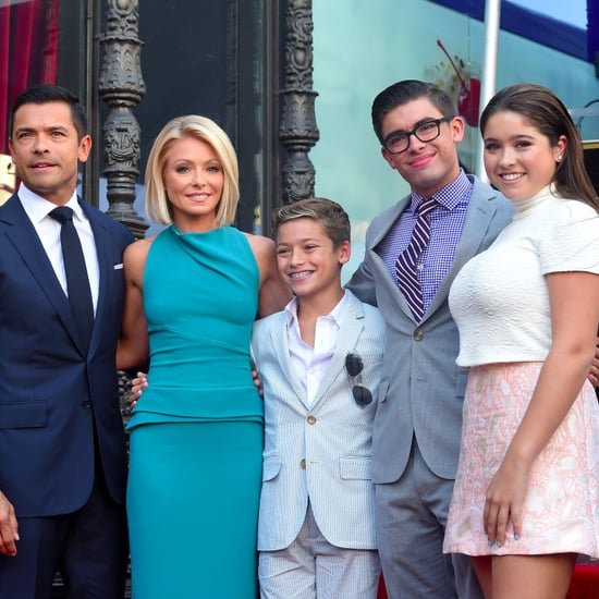 Kelly Ripa and Mark Consuelos Family Photos