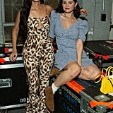 Selena Gomez and Kacey Musgraves in Los Angles