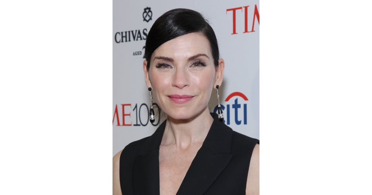 Julianna Margulies Time 100 Gala Celebrity Hair And Makeup