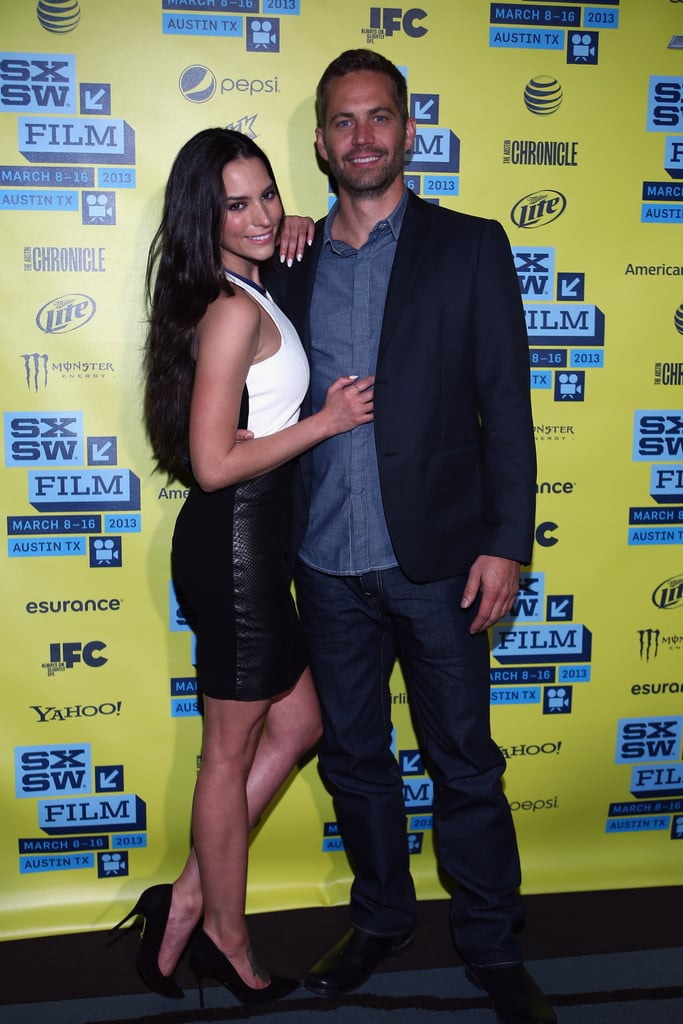 Paul Walker and his co-star Genesis Rodriguez promoted their film Hours at the SXSW Film Festival in Austin in March 2013.