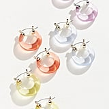 Margot Lucite Hoop Earring