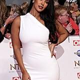 Maya Jama at the National Television Awards 2020