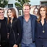 Cindy Crawford and Family at Sister Cities LA Premiere 2016