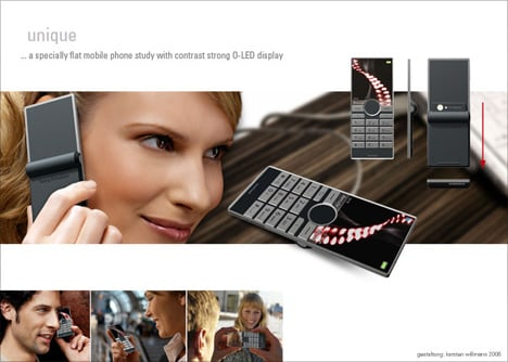 Seesaw Mobile Phone: Slim And Chic