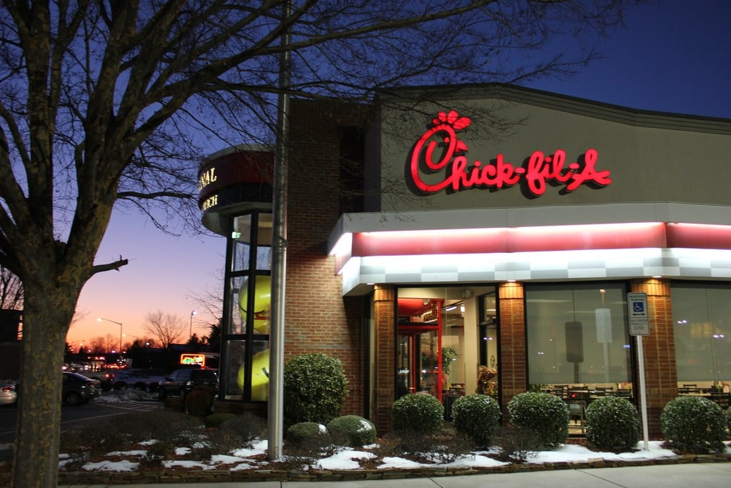 Breastfeeding mom asked to cover up or leave Chick-fil-A