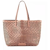 Elizabeth and James Daily Perforated Leather Tote Bag ($445)