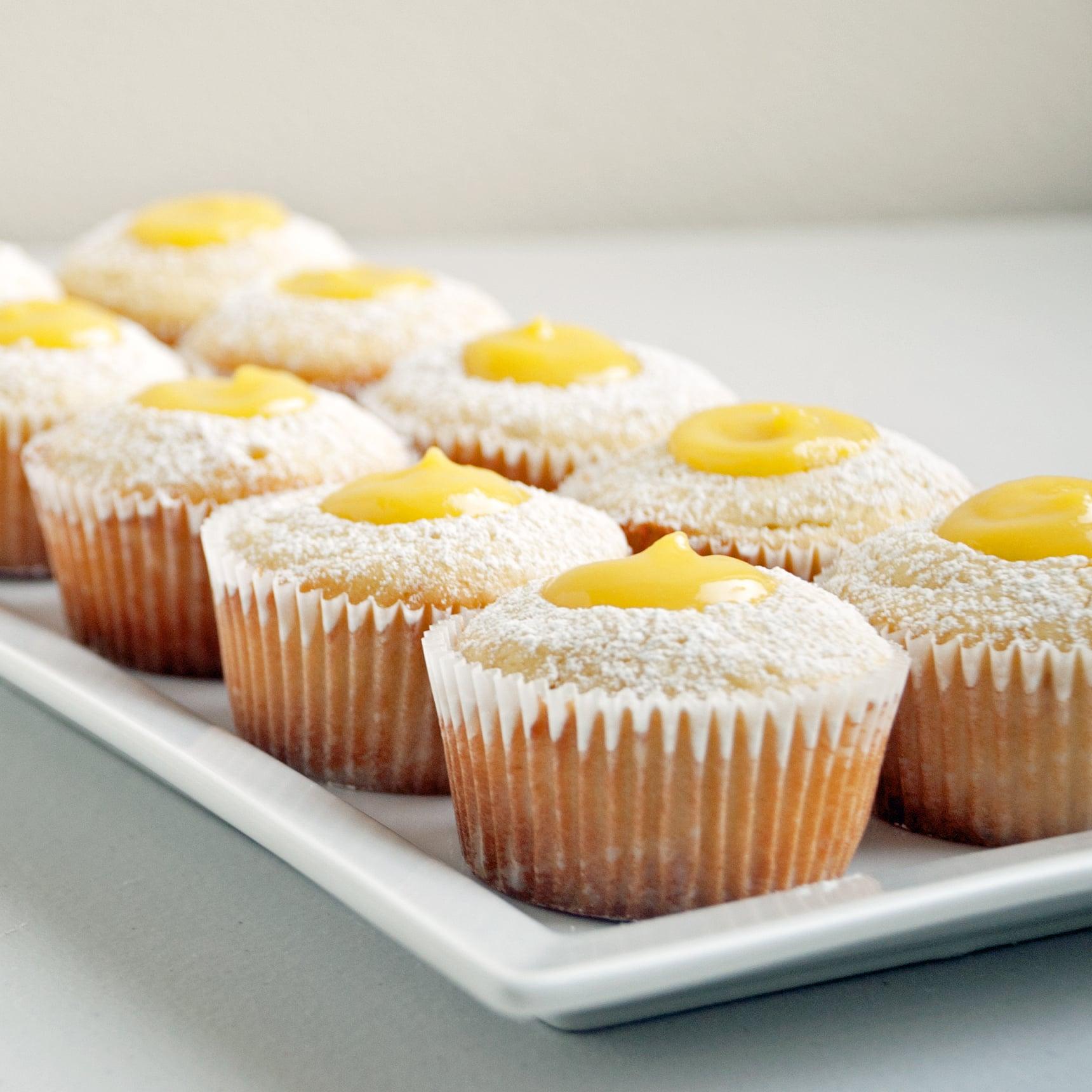 Double-Lemon Cupcakes