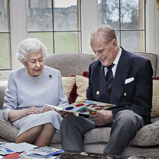 Queen Elizabeth II and Prince Philip 73rd Anniversary Photo