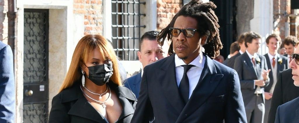 Beyoncé's Coat Dress at Alexandre Arnault's Venice Wedding