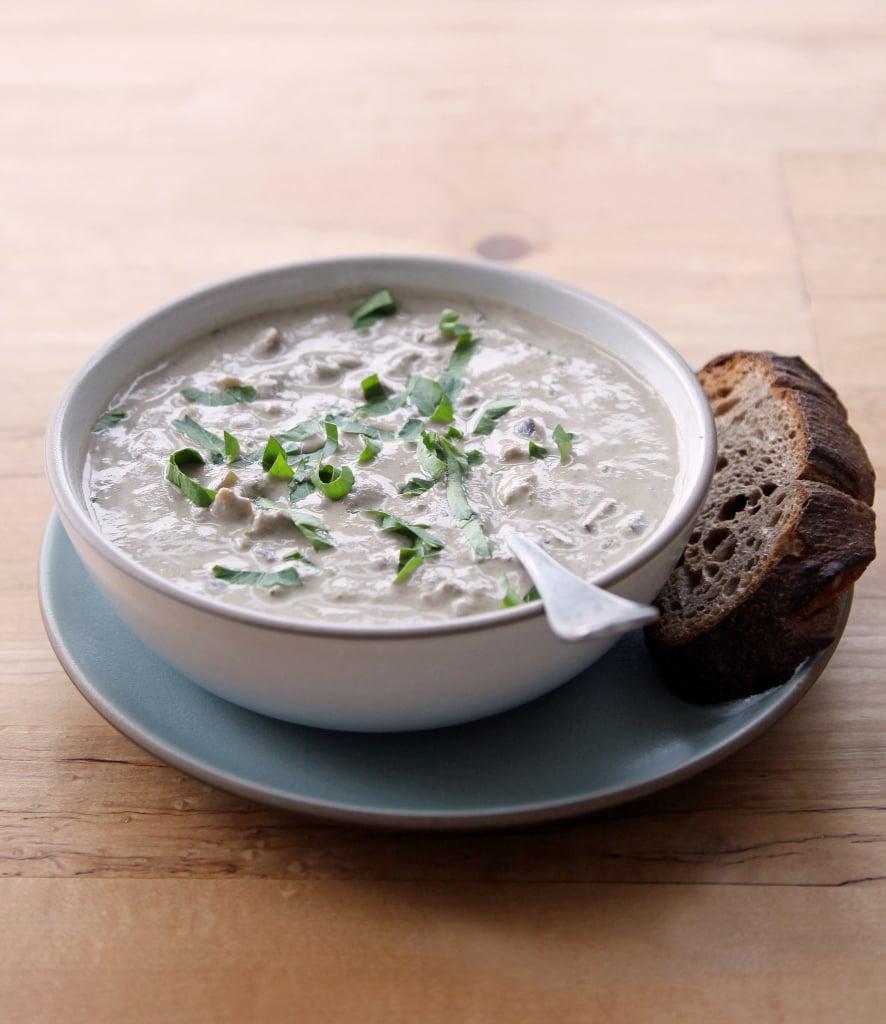 Mushroom Soup With Cashew Cream