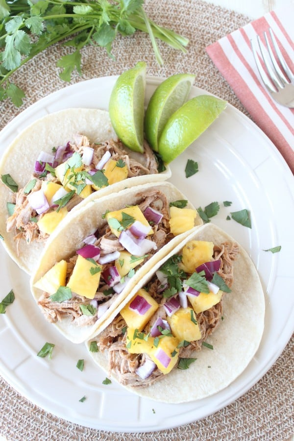 Slow-Cooked Tacos al Pastor